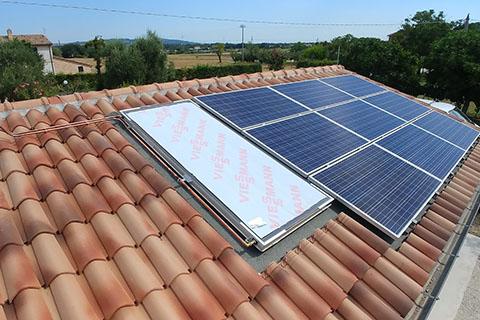 solare termico a Fano