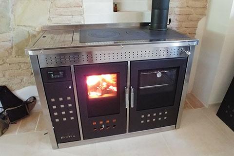 generatore di calore a biomassa